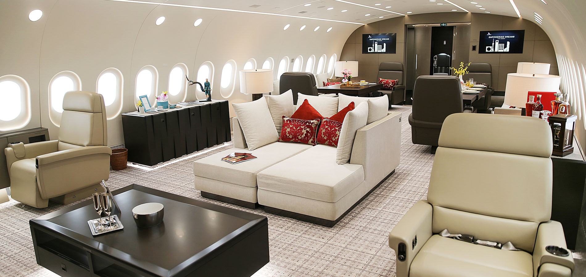 An inside look at the world's only private Boeing 787 Dreamliner